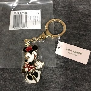 kate spade Accessories - Kate Spade Disney Minnie Mouse Keychain